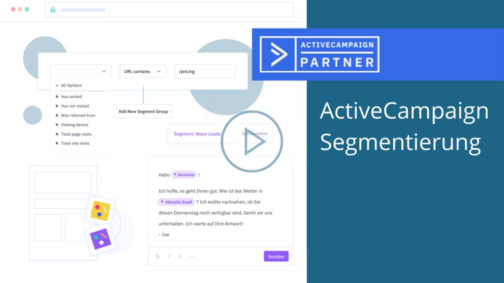 ActiveCampaign Segmentierung - Nextim Blogbeitrag 2021