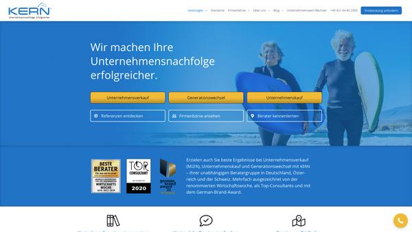 HEROBRAND® Story-Webdesign-KERN-Unternehmensnachfolge