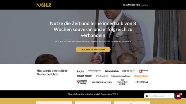 HEROBRAND® Story-Webdesig-Nasher