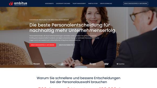 HEROBRAND® Story-Webdesign-Ambitus